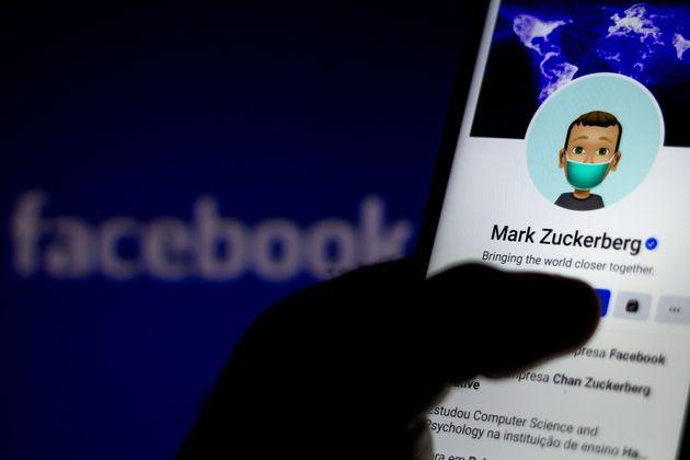 El perfil de Mark Zuckerberg, fundador de Facebook, en la red