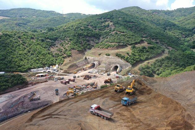 Βίντεο: Κοντά στο 50% η πρόοδος κατασκευής στο νότιο τμήμα του