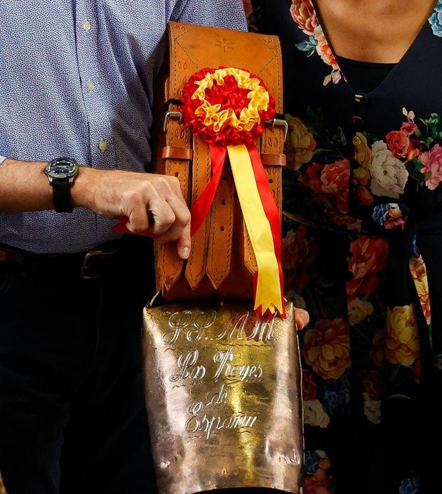 Felipe VI y Letizia Ortiz en el Mercado Nacional de Ganado en