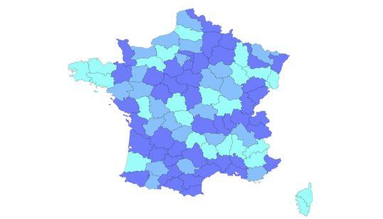 Coronavirus: notre carte de France pour suivre l'évolution du Covid-19 par