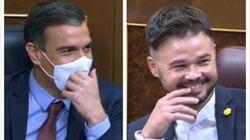 Carcajadas en el Congreso tras la frase que le ha dedicado Abascal a