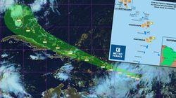 Les Antilles françaises en vigilance orange à cause d'une tempête