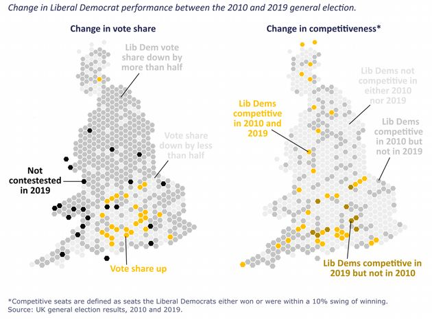 Lib Dems Have New Yellow Halo Of Support In London And South East, Finds Study