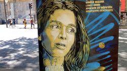 Comme Simone Veil, Gisèle Halimi a sa fresque de street art: et bientôt le