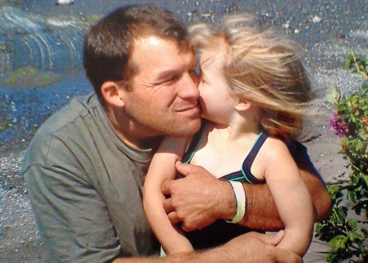 Justine Rochette et son père