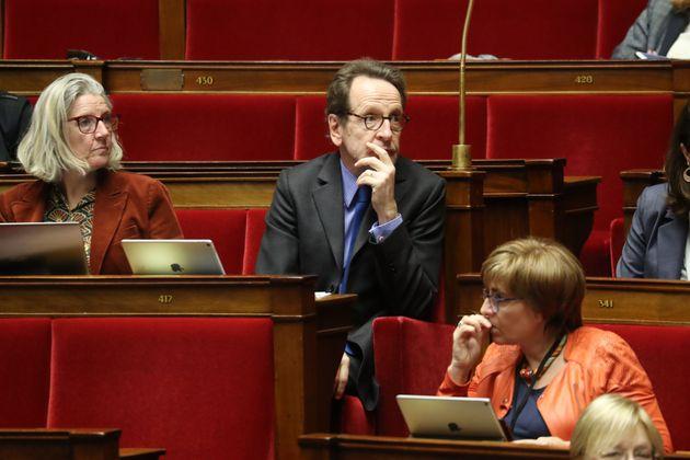 Gilles Le Gendre à l'Assemblée nationale au mois de janvier