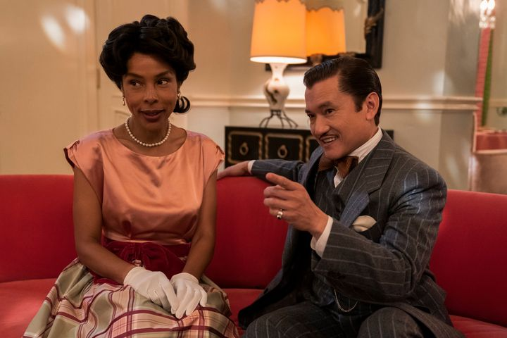 "Sophie Okonedo and Jon Jon Briones in ""Ratched."""