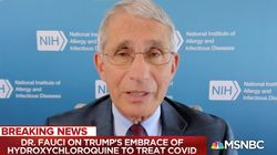 Fauci: Hydroxychloroquine 'Is Not Effective' In Treating