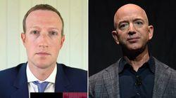 Bezos e Zuckerberg si difendono davanti al Congresso Usa. E fanno leva sul patriottismo: