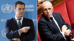 Le ministère accuse Ciotti de truquer les chiffres sur l'hospitalisation des seniors pendant le