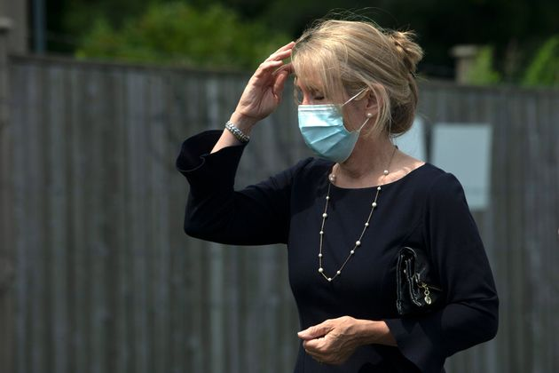 Dr. Merrilee Fullerton, Ontario's Minister of Long-Term Care attends an announcement in Ajax, Ont., on