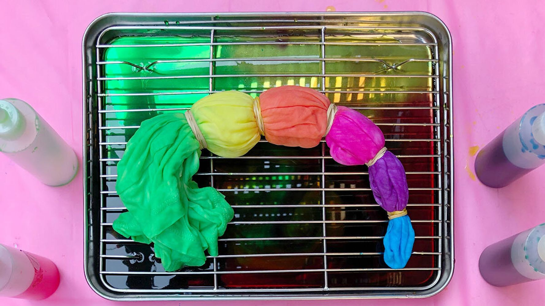 Tips And Tricks For Tie-Dyeing In A Small Space