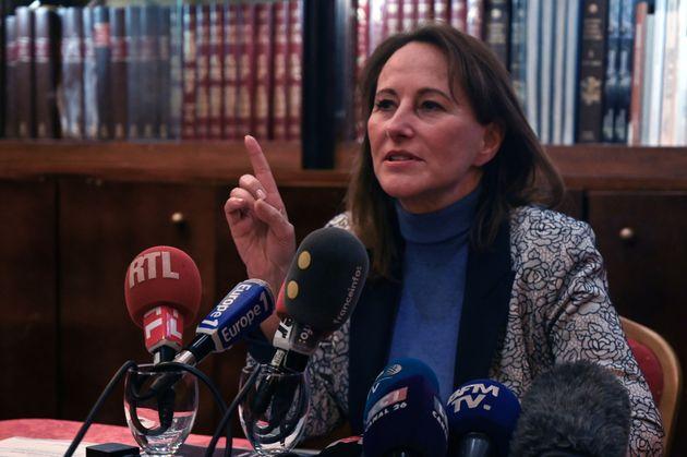 Ségolène Royal, ici à Marseille le 23 janvier