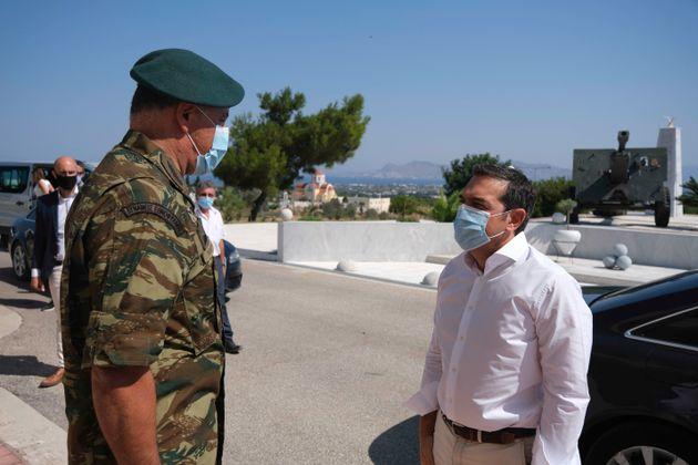Τσίπρας: Μόνη διαφορά με την Τουρκία η υφαλοκρηπίδα, δεν υπάρχουν γκρίζες ζώνες στο