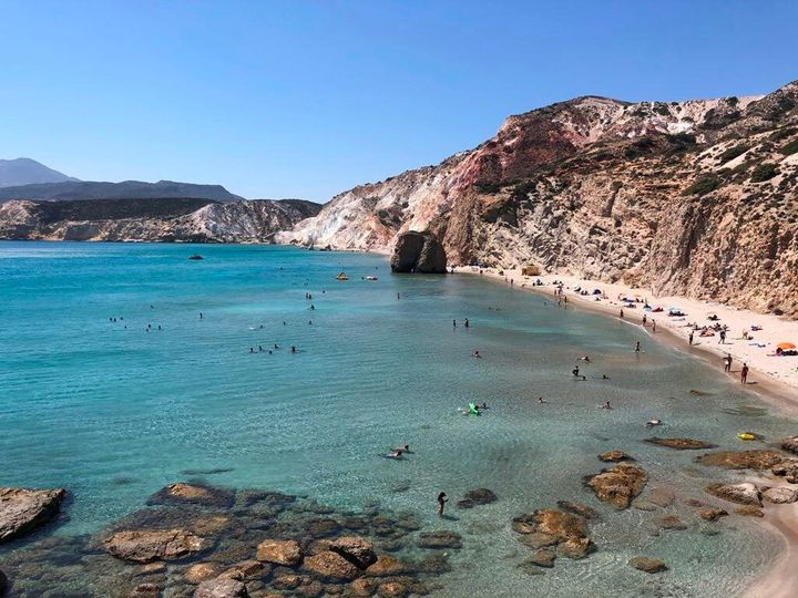 Spiaggia di Firiplaka, Milos