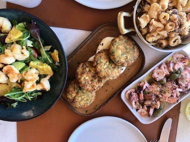 Cucina greca alla Taverna 37 di Voulagmeni