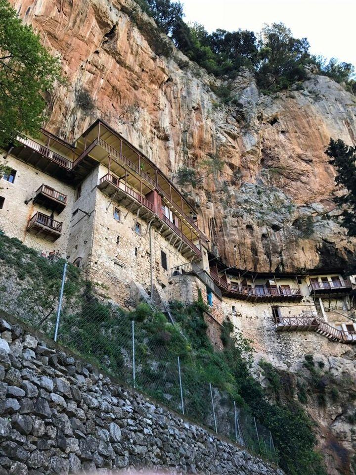 Monastero nel Peloponneso