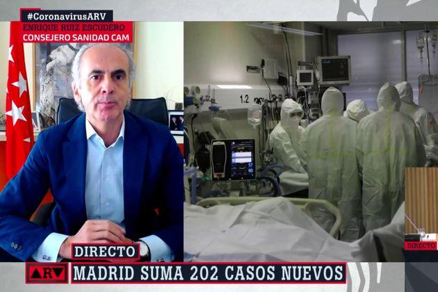 Enrique Ruiz Escudero, en 'Al Rojo Vivo'