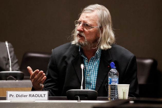 Didier Raoult, ici entendu à l'Assemblée nationale à Paris, le 24 juin