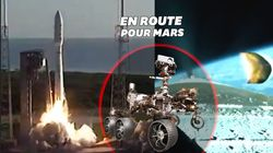 Le rover Perseverance de la Nasa a décollé, direction