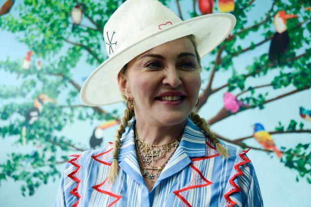 Dans cette séquence, Madonna (ici photographiée en 2018)affirmait qu'un vaccin...