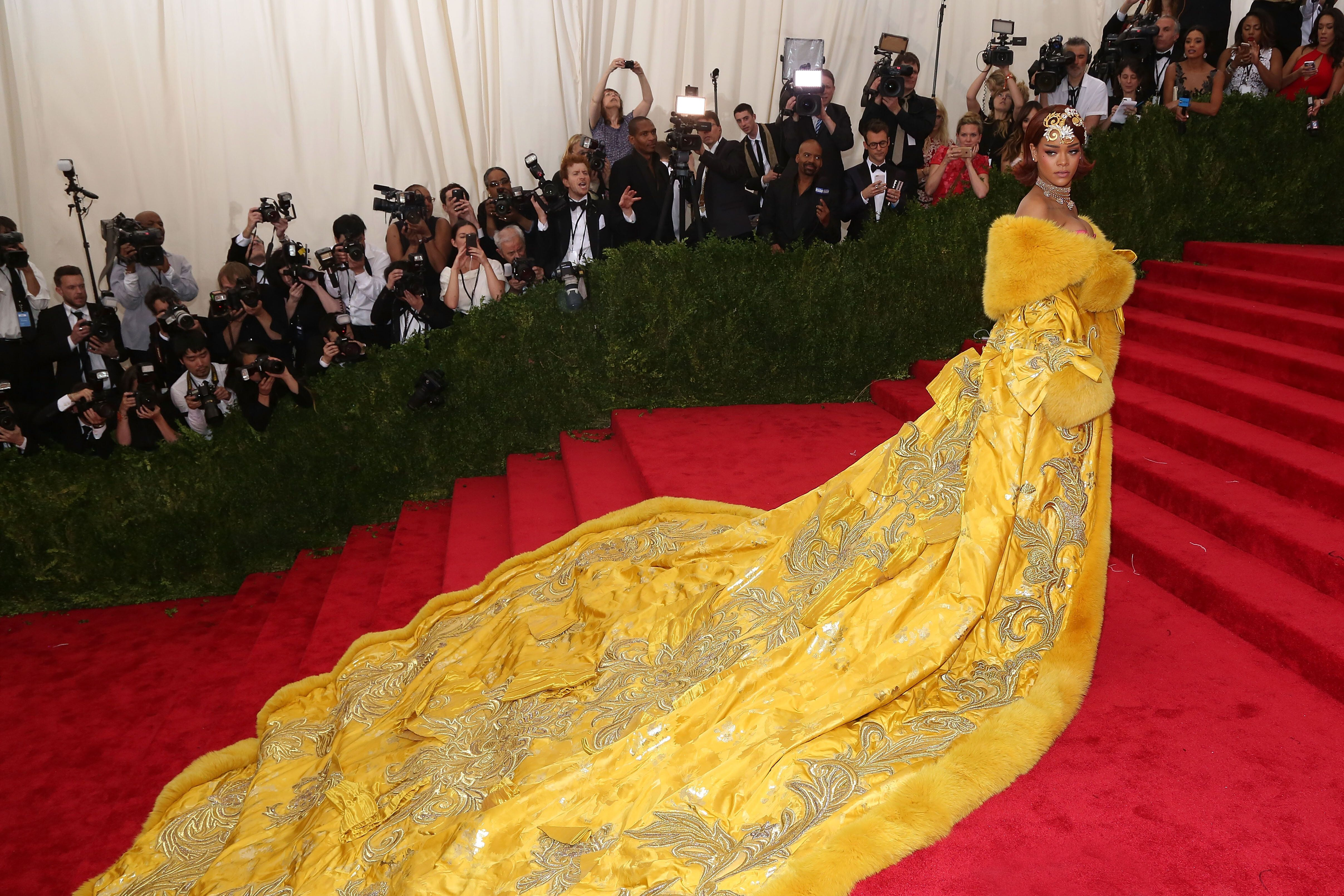 Rihanna Thought She Looked Like A 'Clown' In That Iconic Yellow Met Gala Gown