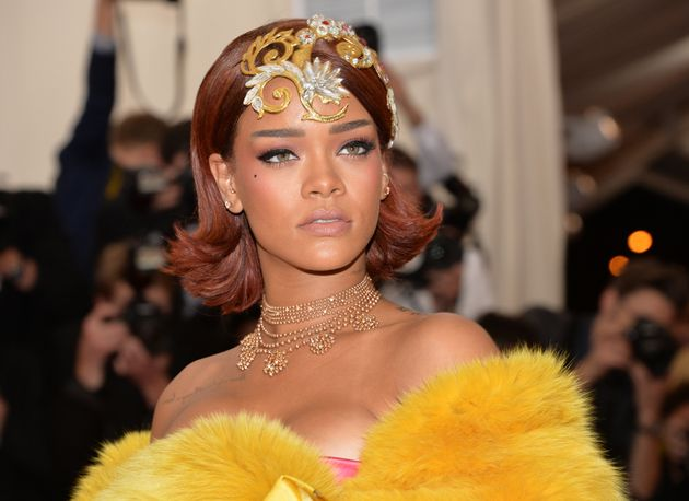 Rihanna's look at the gala was a huge hit, but she was filled with worry about it.