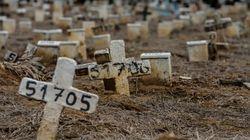 Brasil confirma mais de mil mortes por covid-19 pela 41ª vez e chega a