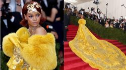 Rihanna Thought She Looked Like A 'Clown' In That Iconic Yellow Met Gala