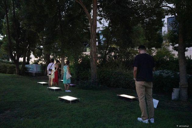 Οι «Δομές Συναισθημάτων» του Γιώργου Δρίβα στον Κήπο του Μεγάρου