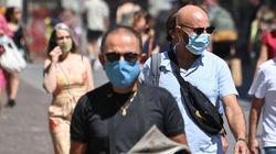 Face aux fortes chaleurs, la DGS appelle à ne pas humidifier les masques