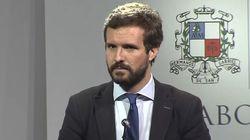 Pablo Casado estalla contra la prensa y el Gobierno: