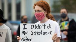 미국에서 흑인 청소년이 학교 공부를 안 했다는 이유로