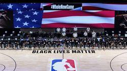 La NBA reprend avec ses joueurs genou à terre contre le