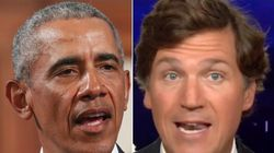 Tucker Carlson Accuses 'Greasy Politician' Obama Of 'Desecrating A