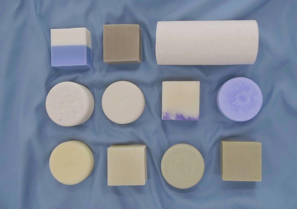 잘라서 쓰면 환경에 도움이 되는 설거지비누를 만든 회사가 있다 (사진,