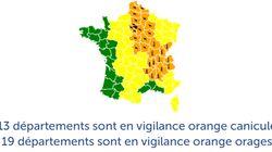 32 départements en vigilance orange canicule ou