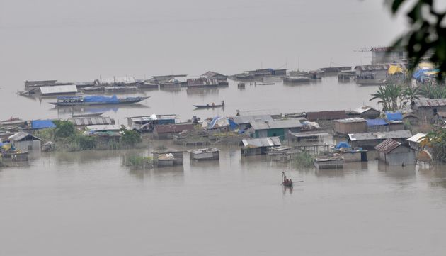 Assam Floods Has Had A Significant Impact On Humans And Its Wild
