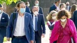 El desagradable grito que ha escuchado Pablo Iglesias a su llegada a la Conferencia de