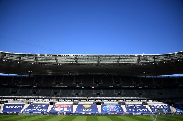 Le Stade de France avant la finale de la Coupe de la Ligue, le 30 juillet