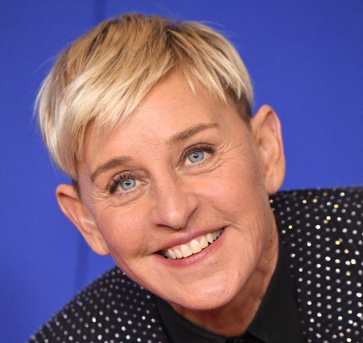 La presentadora y cómica Ellen DeGeneres.