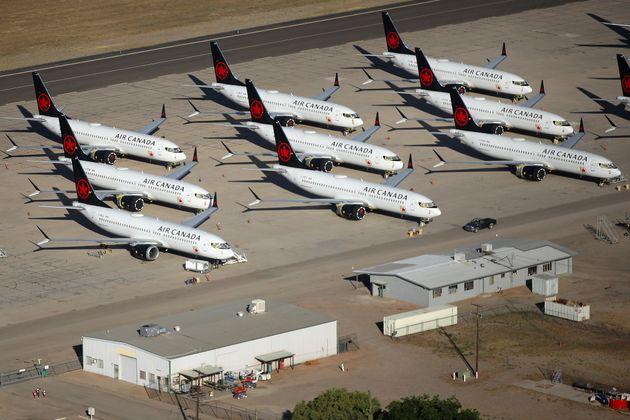 Au deuxième trimestre,Air Canada a réduit sa capacité de 92 % par rapport...