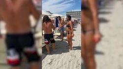 La vicesindaca incontra Salvini in spiaggia: