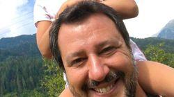 Matteo Salvini, propaganda con uso di