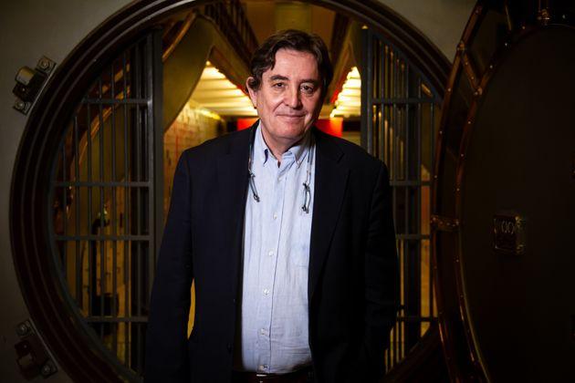 Luis García Montero, en el Instituto