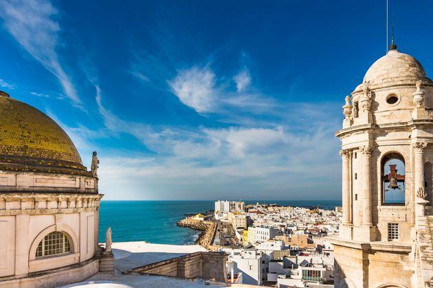 La Bahía de Cádiz, vista desde su