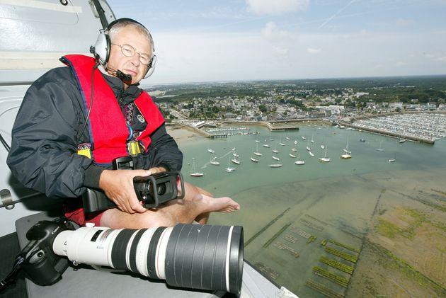 Installé à la Trinité, le marin-photographe y a ouvert en 1988 sa première galerie. (Photo by MARCEL...