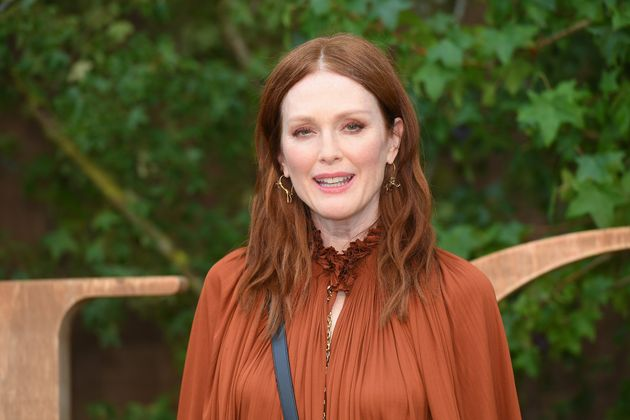 Julianne Moore at Paris Fashion Week in September
