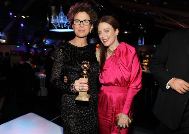 Annette Bening and Julianne Moore in January