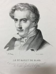 Étienne-Marin Bailly, λιθογραφία 19ου αιώνος, συλλογή ΕΕΦ